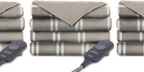 Sunbeam Heated Microplush Throw Blanket Only $17 at Walmart (Regularly $29+)