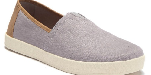 TOMS Men's Avalon Canvas Sneakers Only $19.99 at Nordstrom Rack (Regularly $50)