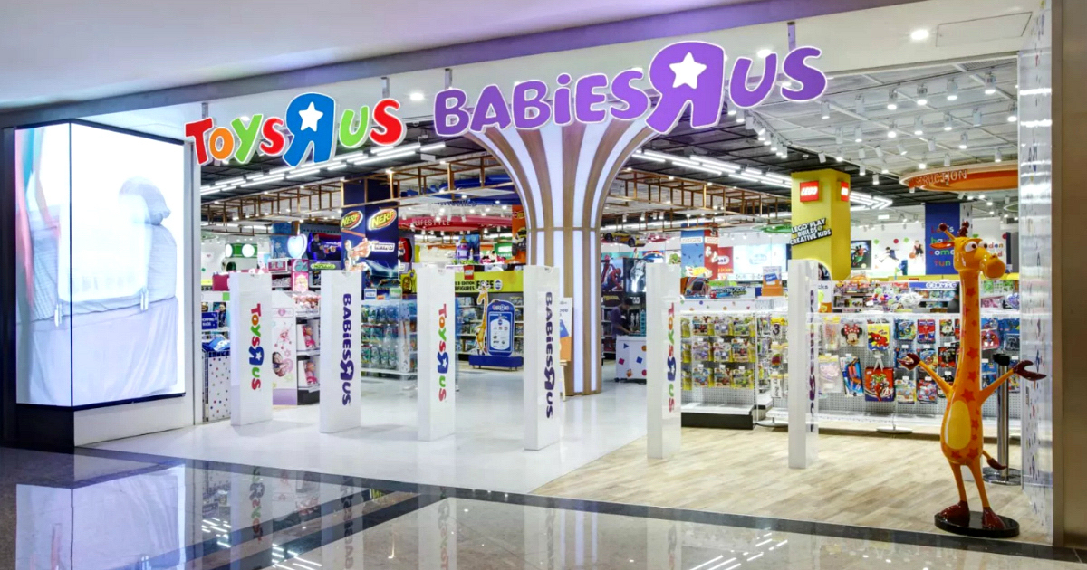 """Toys""""R""""Us and Babies R Us storefront"""