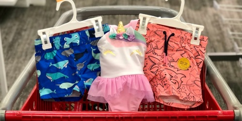 Buy One, Get One 50% Off Swimwear for the Whole Family at Target