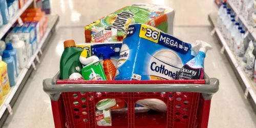 Free $15 Target Gift Card with $50 Household Essentials Purchase (In-Store & Online)