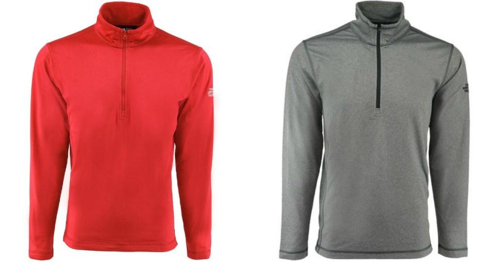 768dca04d209 The North Face Men's Tech 1/4 Zip Fleece Jacket Only $37 Shipped ...