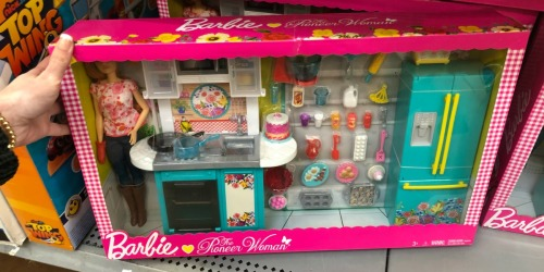 Barbie The Pioneer Woman Kitchen Set as Low as $15 (Regularly $45) at Walmart