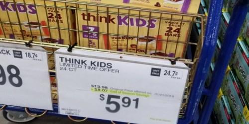 Sam's Club: Think Kids Bars Just $5.91