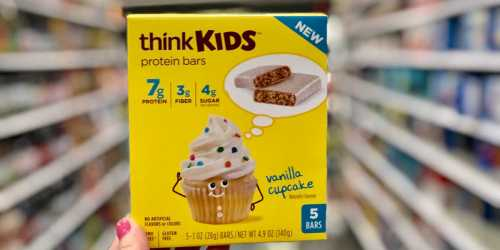 Up To 50 Off ThinkKids Protein Bars ThinkThin Oatmeal At Target