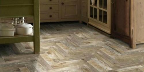 Wood Look Porcelain Tiles as Low as 49¢ Each & More at Lowe's