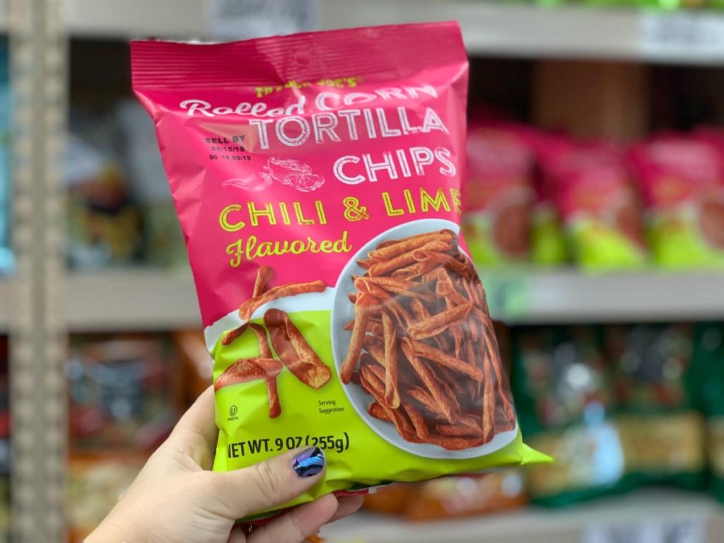 Trader Joe's Chili Lime Tortilla Chips