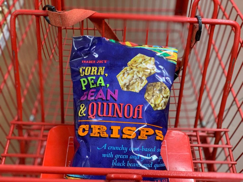 Trader Joe's Corn Pea Bean Quinoa Crisps