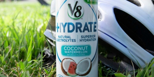 V8 +Hydrate Plant-Based Beverage 24-Packs as Low as $8.97 Shipped on Amazon (Just 24¢ Each)