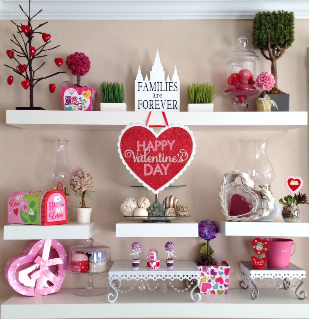 Valentine's Day Mood Wall
