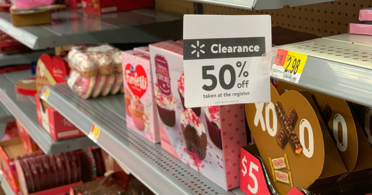 50 Off Valentine S Day Clearance At Walmart Candy Plants Cookies More Hip2save