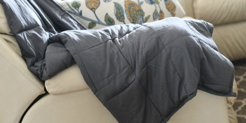 NEX 15-Pound Weighted Blanket Only $56.99 Shipped (Regularly $250)