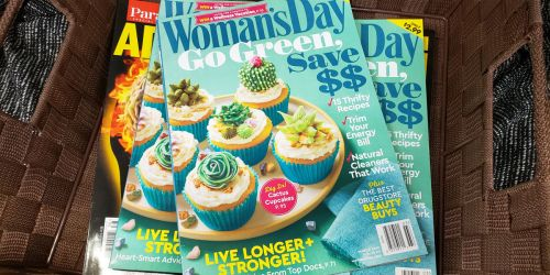 Woman's Day Magazine One-Year Subscription Just $4.95 (Only 50¢ Per Issue)