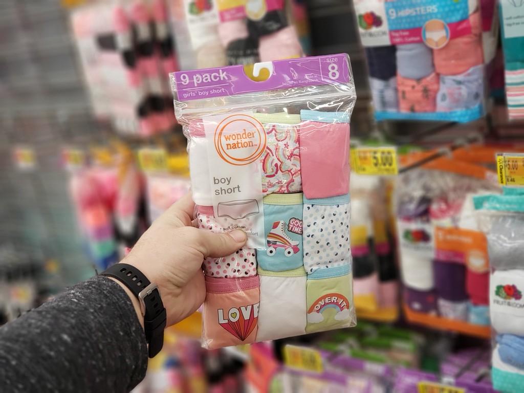 8571fb4c14b Up to 80% Off Girls Underwear at Walmart - Hip2Save