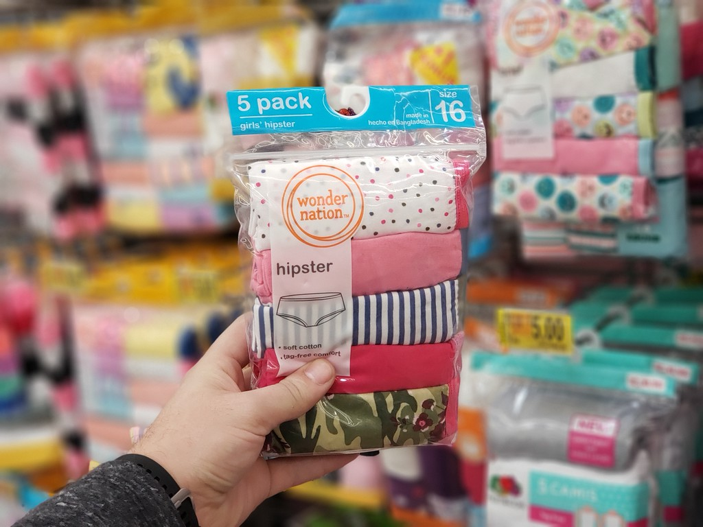 e75f8c5568b4 Up to 80% Off Girls Underwear at Walmart - A Couponer's Life