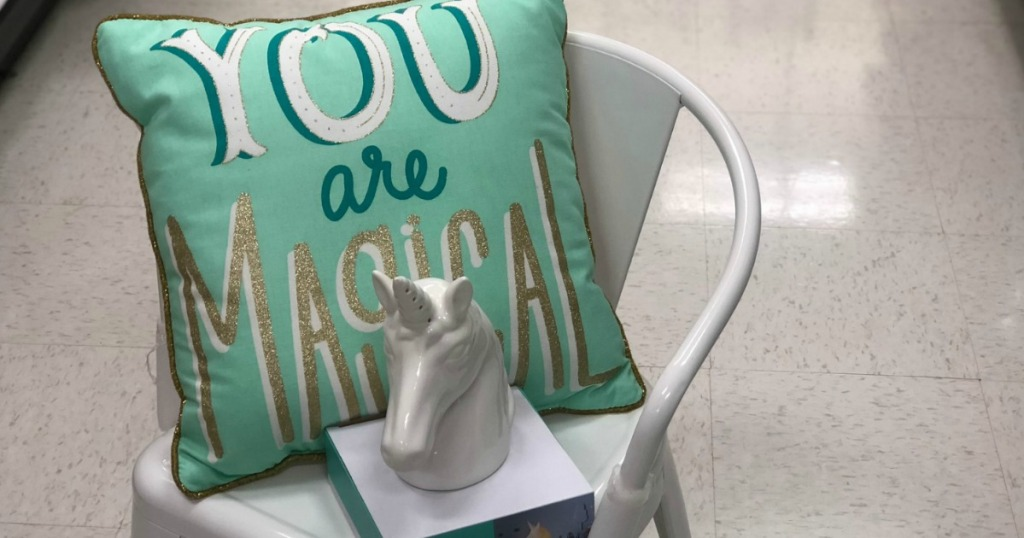 You are Magical throw pillow on chair at Target