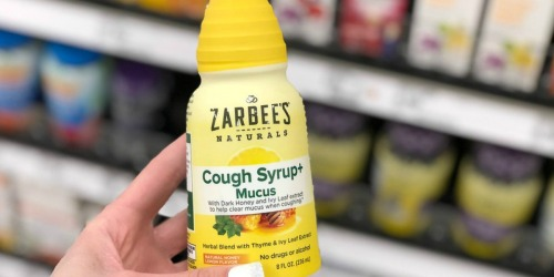 Zarbee's Naturals Adult Cough Syrup Only $1.99 After Cash Back at Target