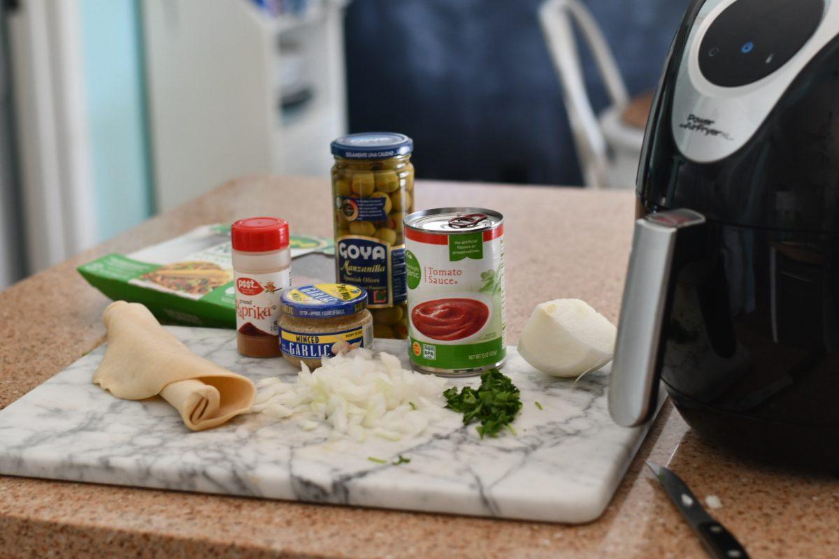 air fryer empanada ingredients