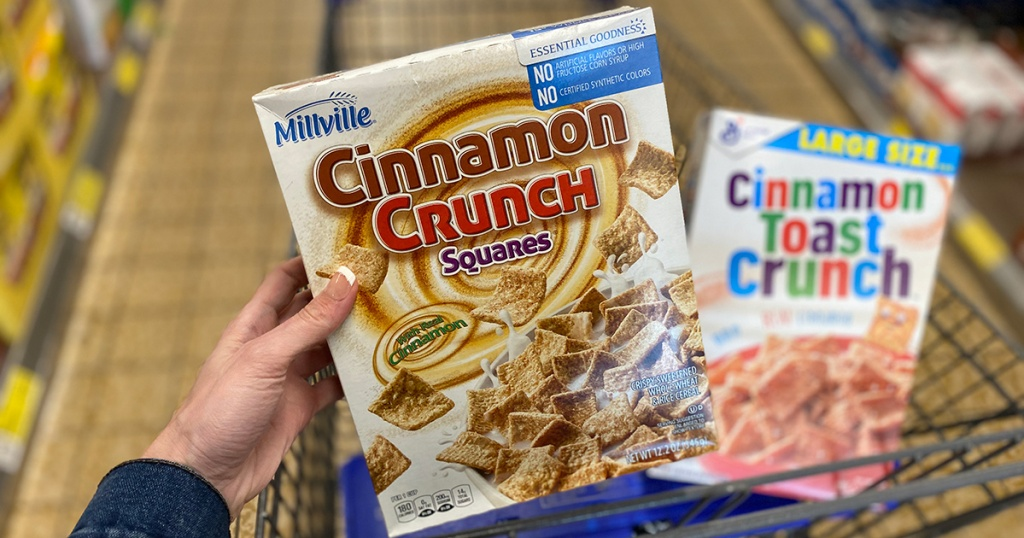 aldi cinnamon toast crunch generic cereal