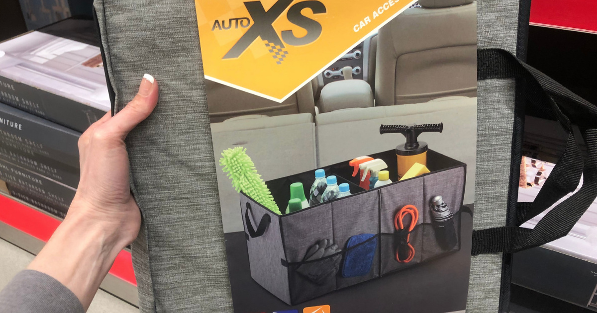 Auto Xs Folding Trunk Organization Only 6 99 At Aldi