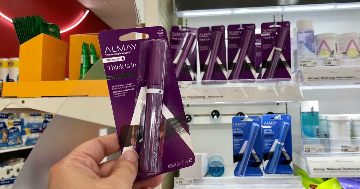 graphic about Almay Coupons Printable referred to as Fresh Almay Coupon \u003d Mascara Basically $1.39 at Emphasis