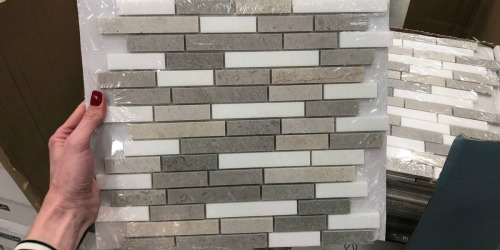 Mosaic Wall Tile Possibly as Low as $1.60 at Lowe's (Regularly $8)