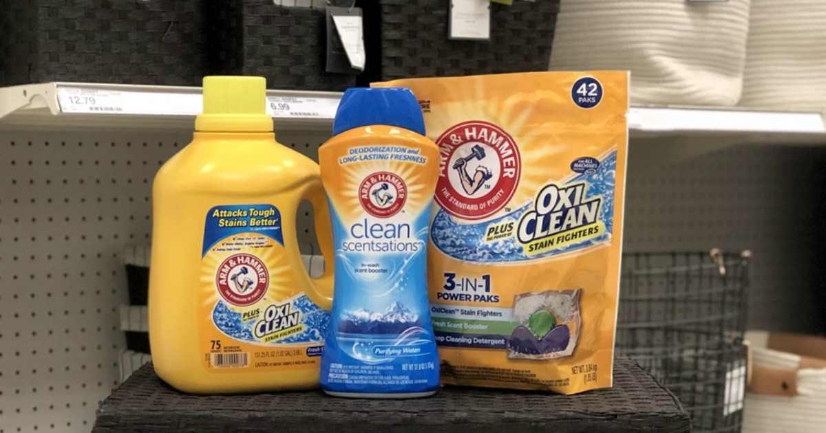 photo about Arm and Hammer Printable Coupons referred to as 50% Off Arm Hammer Laundry Detergent Smell Booster Immediately after