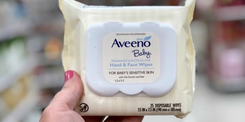 High Value $2/1 Aveeno Baby Product Coupon = Sensitive Skin Wipes Only $1.49 at Target & More