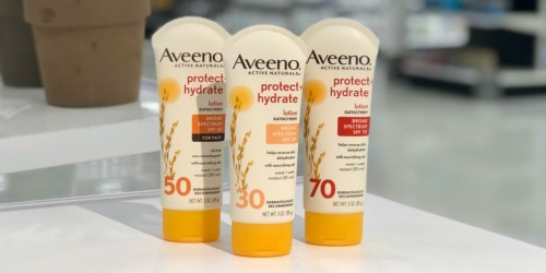 High Value $3/1 Aveeno Suncare Coupon + More Savings