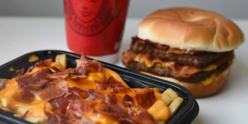 FREE Wendy's Baconator Fries w/ Any Mobile Order Purchase