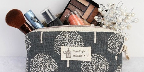 Printed Cosmetic Bags Only $6.49 Shipped (Regularly $20)