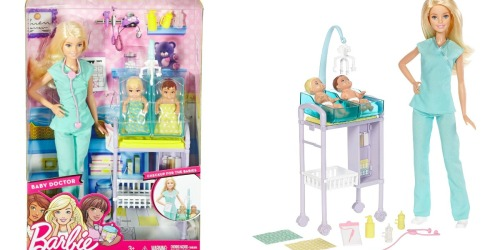 Barbie Baby Doctor Doll Set Only $12.99 Shipped (Regularly $20)
