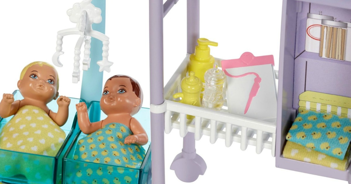 Barbie Baby Doctor Doll Set Only 12 99 Shipped Regularly
