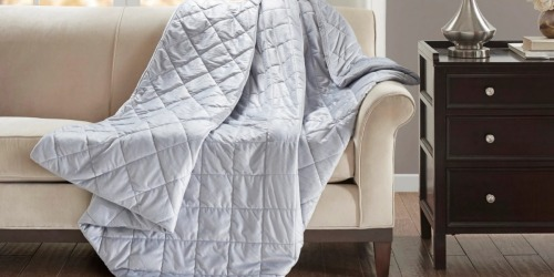 Beautyrest Luxury Mink Weighted Blanket $89.99 Shipped (Regularly $120) + More at Target.com