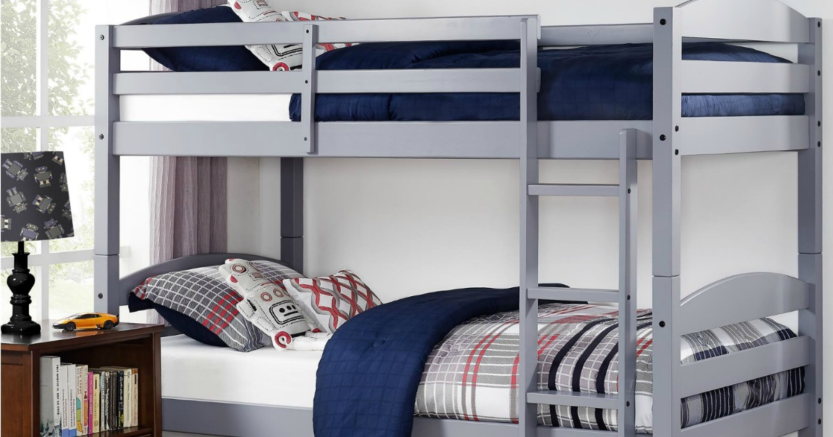 info for 60bb6 eaa77 Better Homes and Gardens Twin Over Twin Bunk Bed Set Only ...
