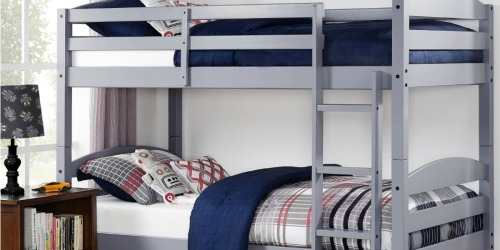 Better Homes and Gardens Twin Over Twin Bunk Bed Set Only $159 Shipped at Walmart