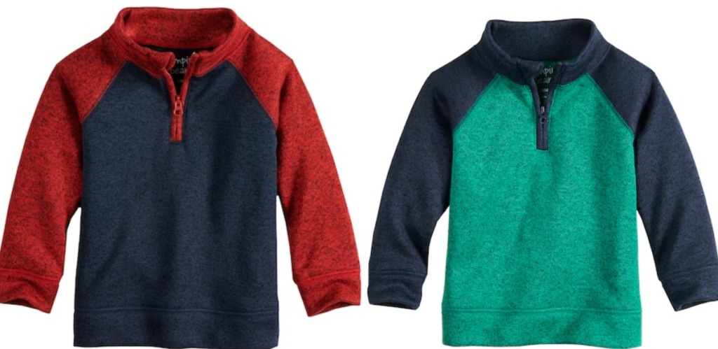 93c404427 Kohl s Cardholders  Jumping Beans Boys Fleece Pullovers as Low as  3 ...