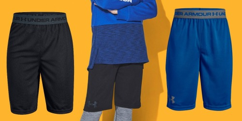 Boy's Under Armour Shorts Only $10 Shipped (Regularly $20)
