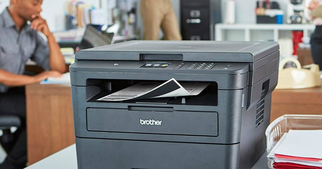 brother printer in office