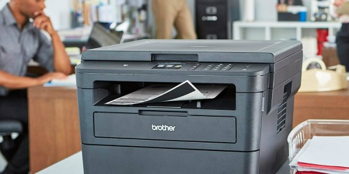 Brother Wireless Laser Printer + $20 Office Depot/OfficeMax Gift Card Only $100.99 Shipped (Regularly $190)