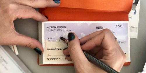 Custom Checks Only $6.99 Per Box Shipped + FREE Address Labels