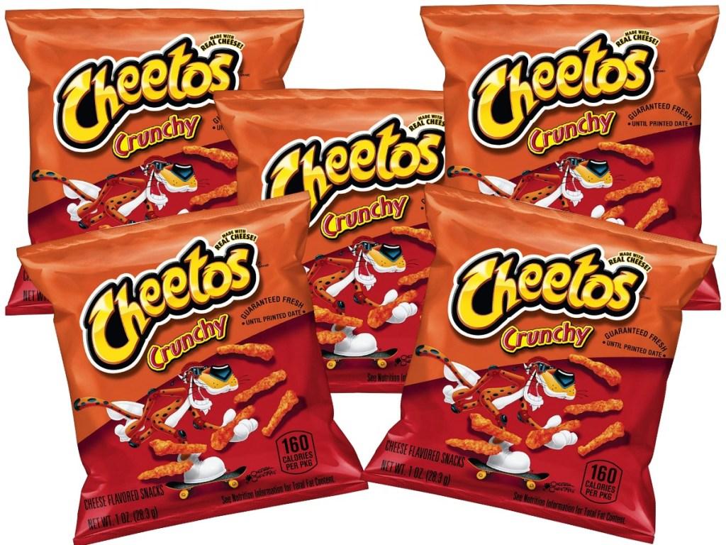 Cheetos Crunchy snack bags