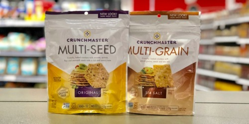 Crunchmaster Crackers Only 50¢ After Cash Back at Target