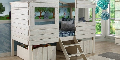 Up to 45% Off Donco Kids Tree House Loft Bunk Beds + More
