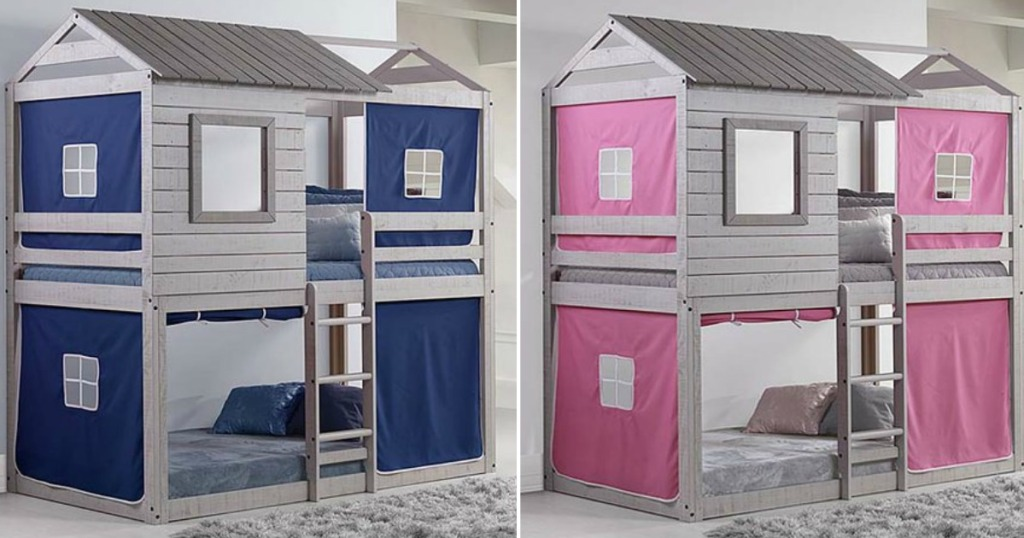 Up To 45 Off Donco Kids Tree House Loft Bunk Beds More
