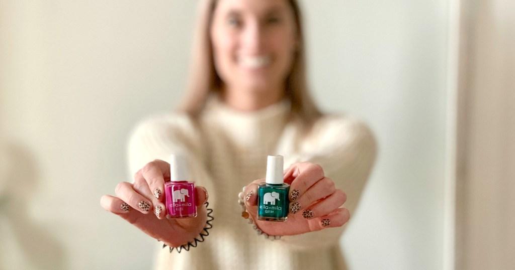 ella+mila nail polishes
