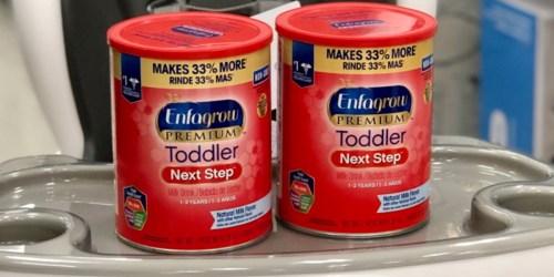 High Value $3/1 Enfagrow Toddler Powder Coupon = 40% Off After Target Gift Card