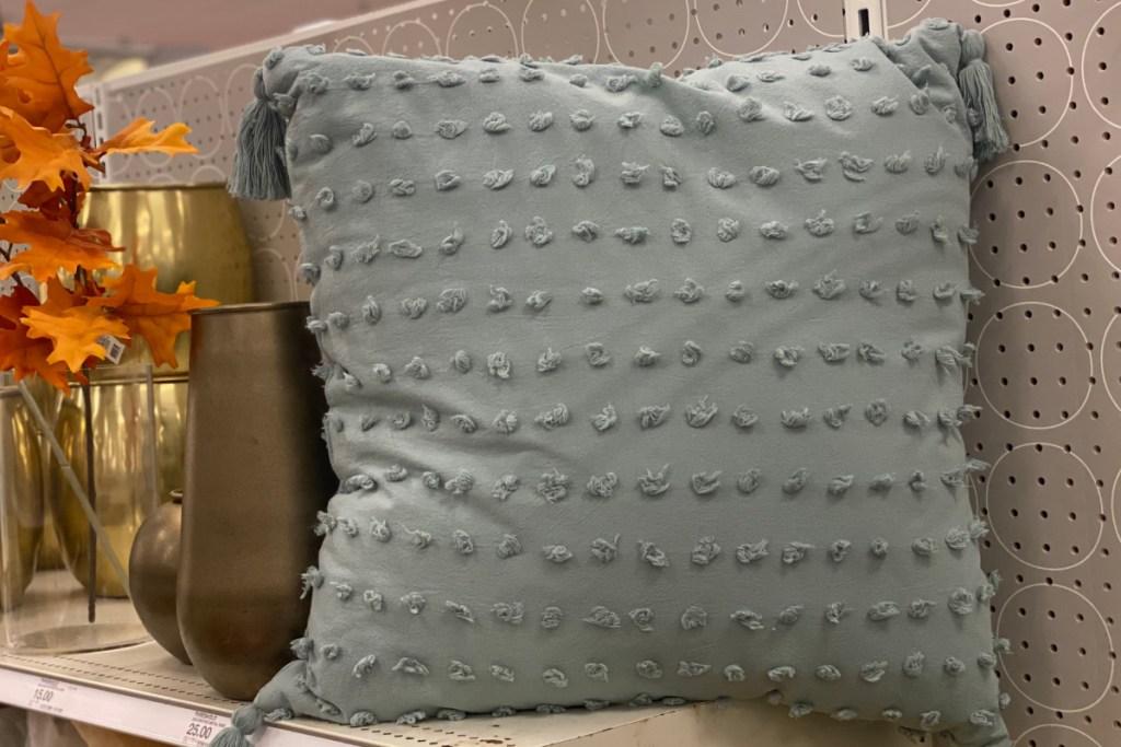 euro tassel pillows