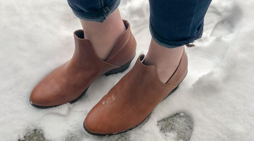 walmart wednesday — faded glory split side boots