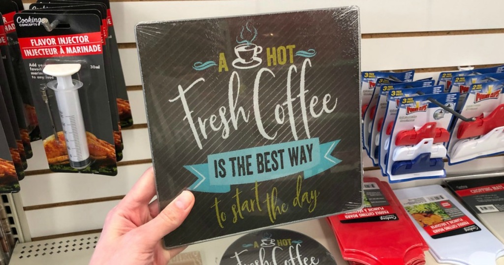 New Coffee Themed Kitchen Items Just 1 At Dollar Tree